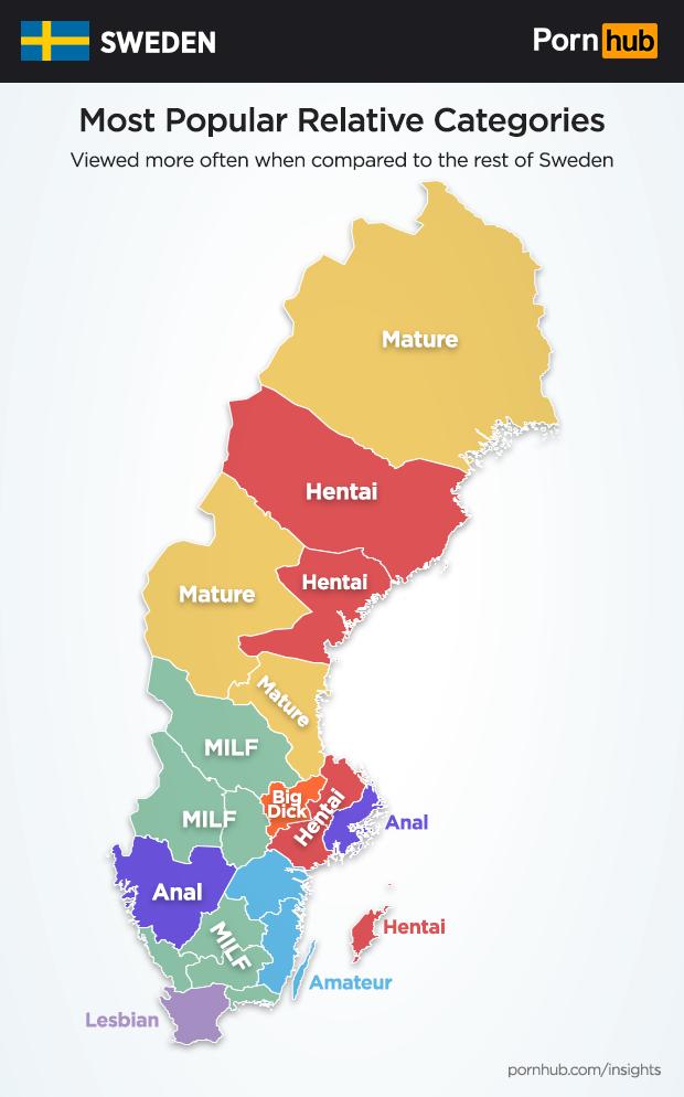 sweden pornhub