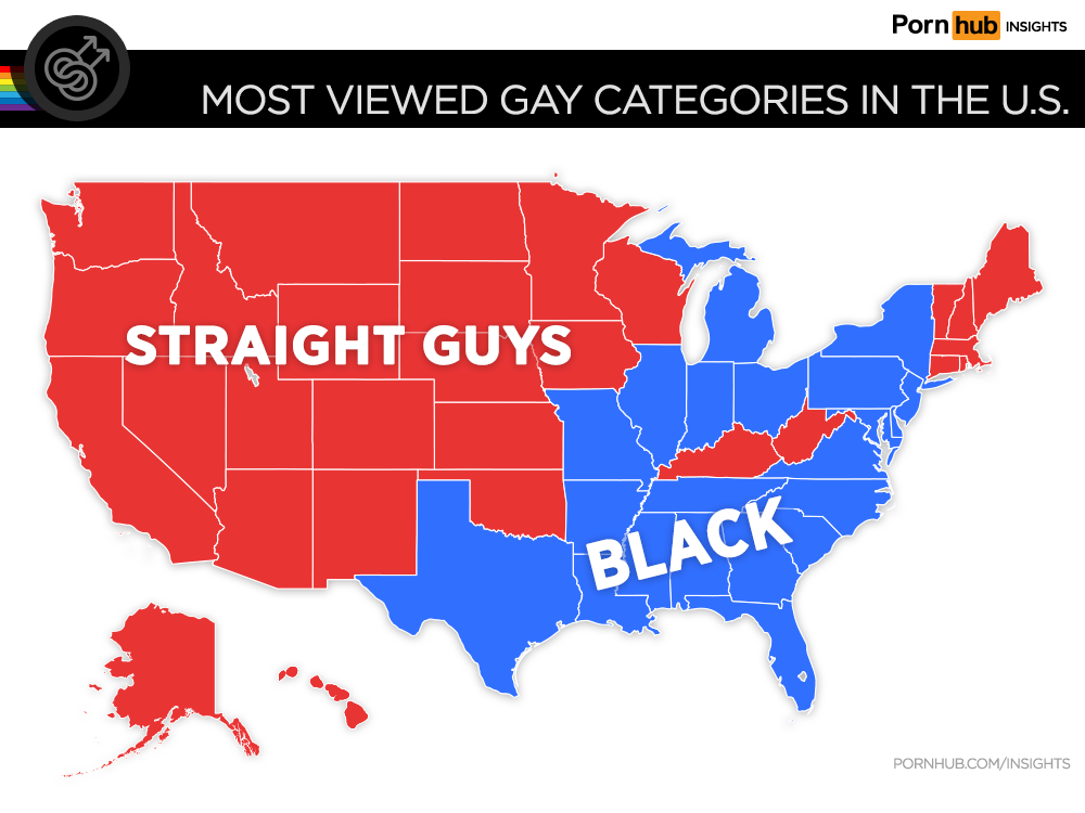 To really see how gay porn tastes vary from state to state