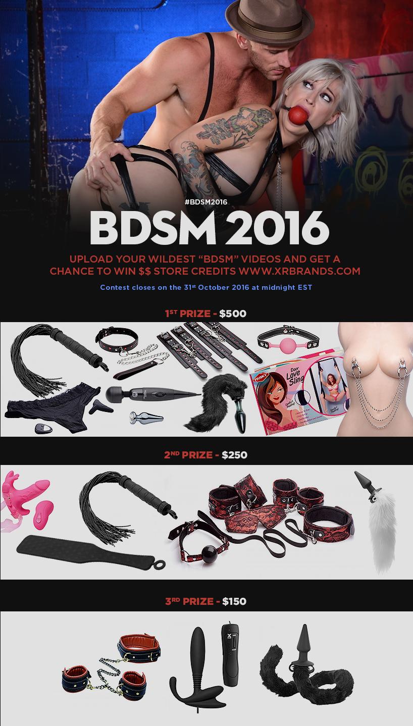 BDSM 2016 : Verified Amateur Contest
